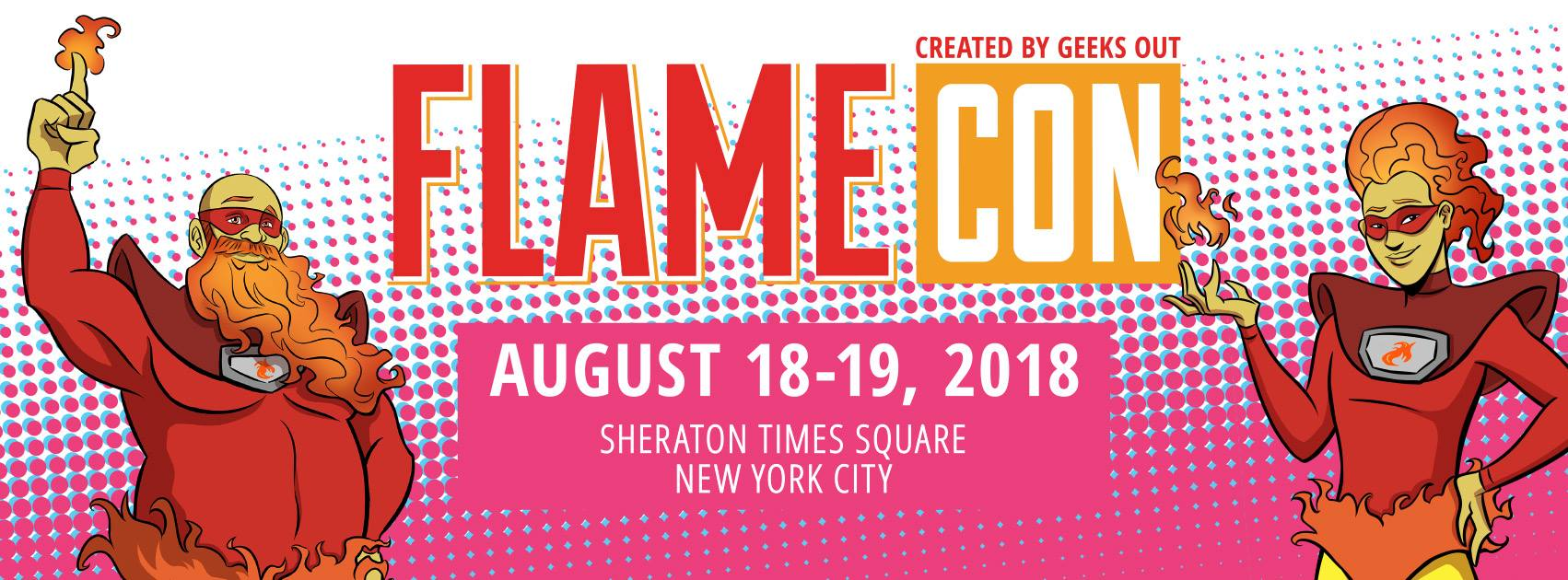 Flame Con Banner Image